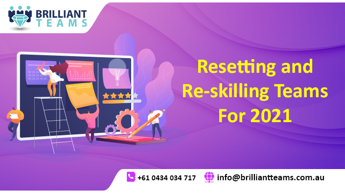 Resetting and Re-skilling teams for 2021
